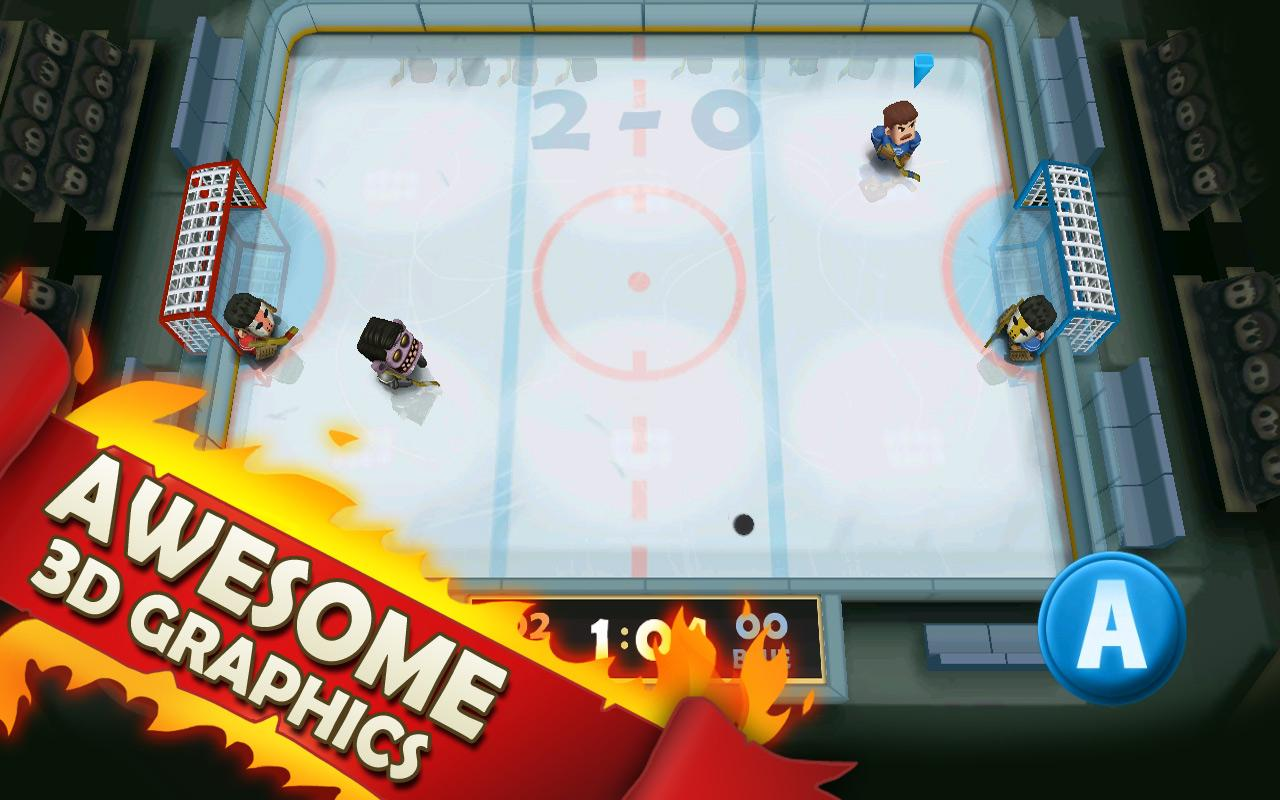 Ice Rage: Hockey- screenshot