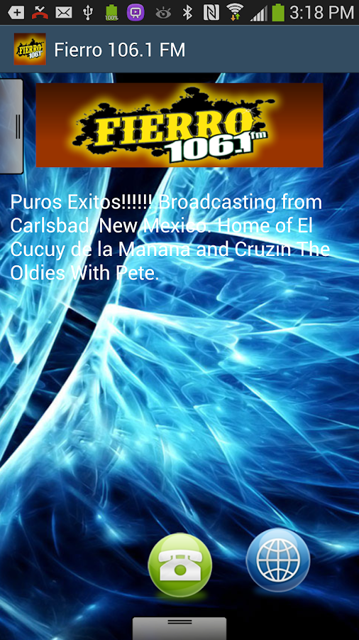 Fierro 106.1 FM - screenshot