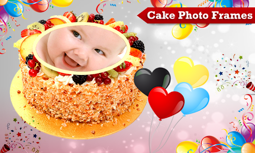 Cake With Photo Frame : Cake Photo Frames - Android Apps on Google Play