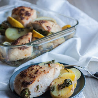 Mustard Lemon Chicken and Potatoes
