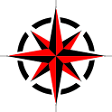 Compass Degrees quadrantal icon