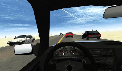 玩免費賽車遊戲APP|下載Desert Traffic Racer app不用錢|硬是要APP