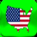 USA Geography trivia logo