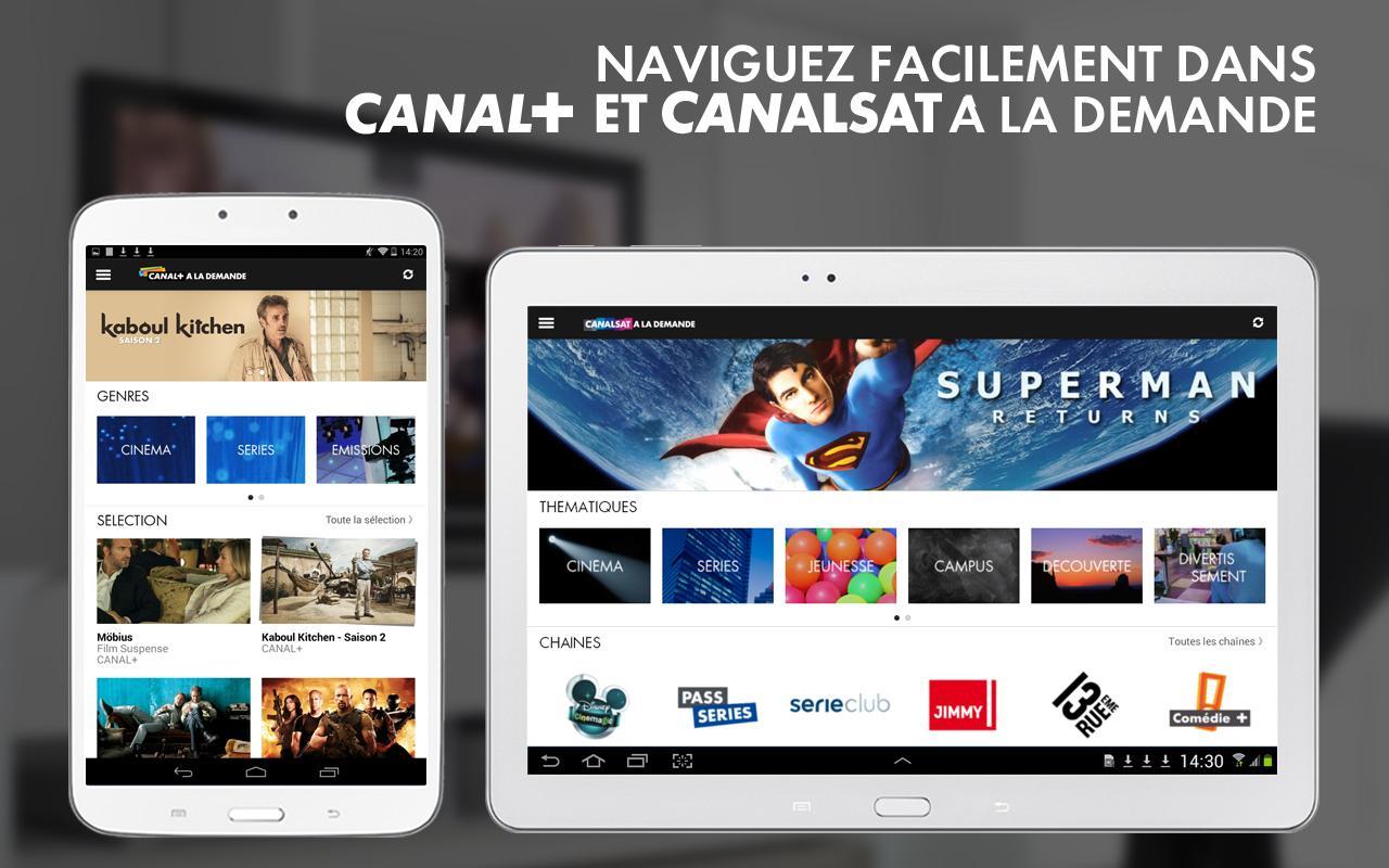 myCANAL, par CANAL+ & CANALSAT - screenshot