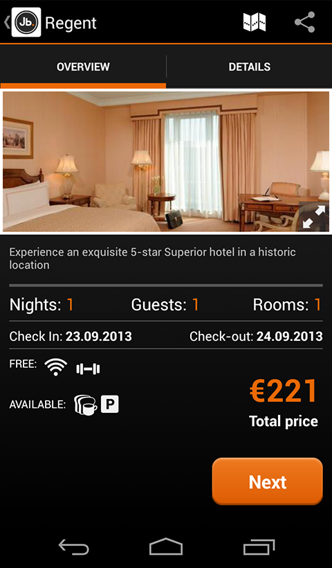 Hotels Last Minute - JustBook - screenshot