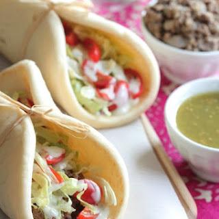 5 Ingredient Salsa Verde Beef Tacos