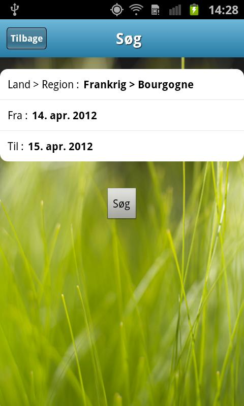 Camping Cheque guiden - screenshot