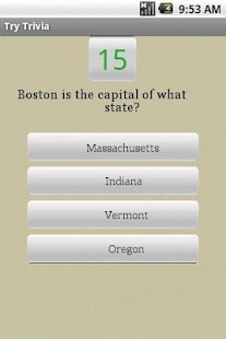 Whizbang United States Quiz - screenshot thumbnail