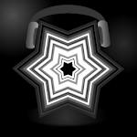 Geometric music live wallpaper