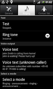 Speaking Ring Tone - screenshot thumbnail