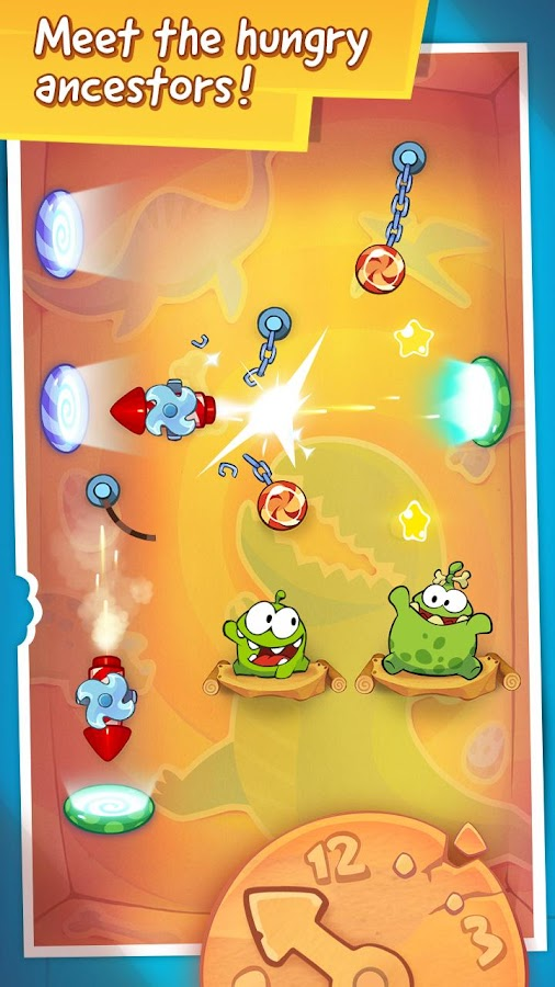 Cut the Rope: Time Travel HD- screenshot