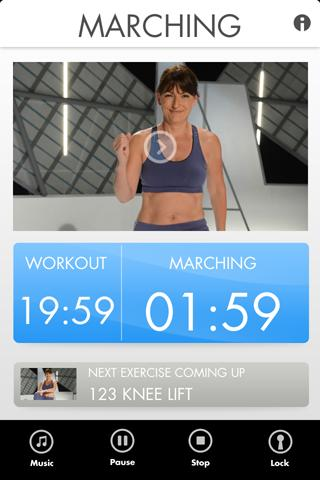 Davina Fitness - screenshot