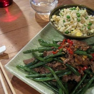 Beef In Oyster Sauce With Fried Rice