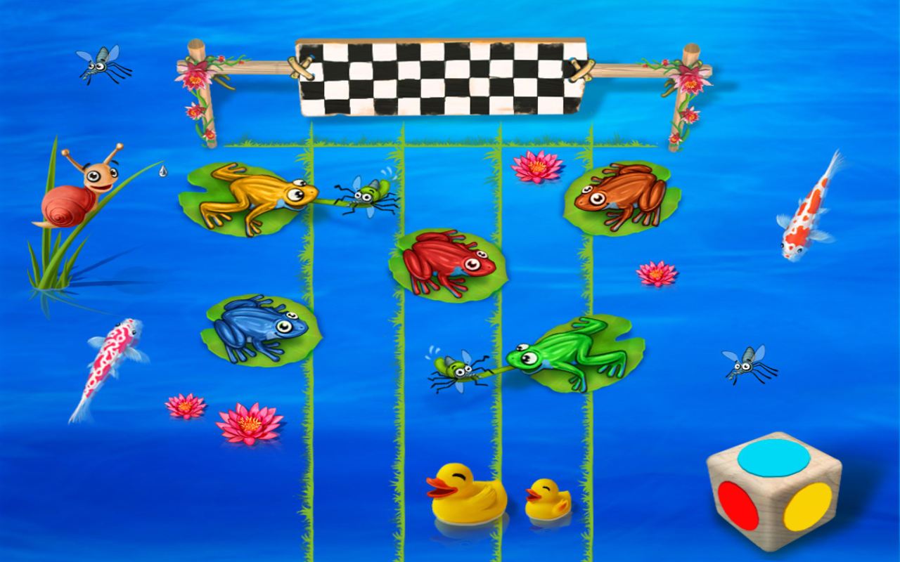 Animal Run: Free Toddler Games- screenshot