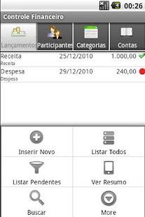 Controle Financeiro- screenshot thumbnail