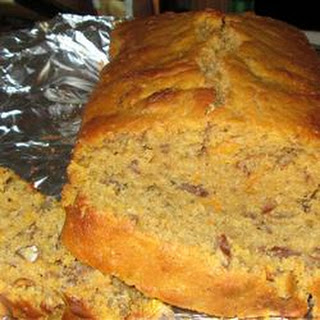 Southern Sweet Potato Bread with Pecans.