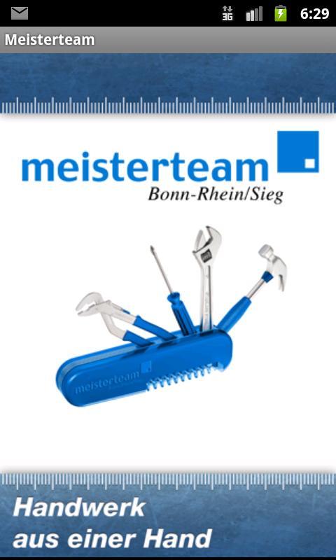 Meisterteam- screenshot