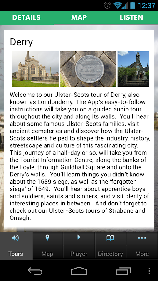 Ulster Scots North West- screenshot