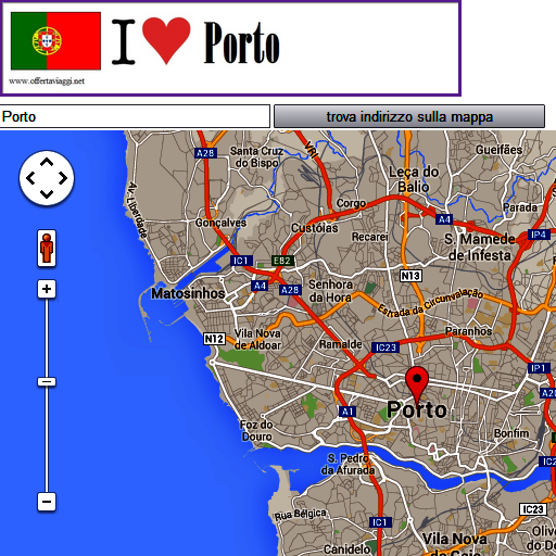 Porto map