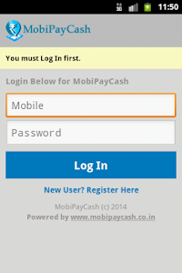 Mobipaycash screenshot 0