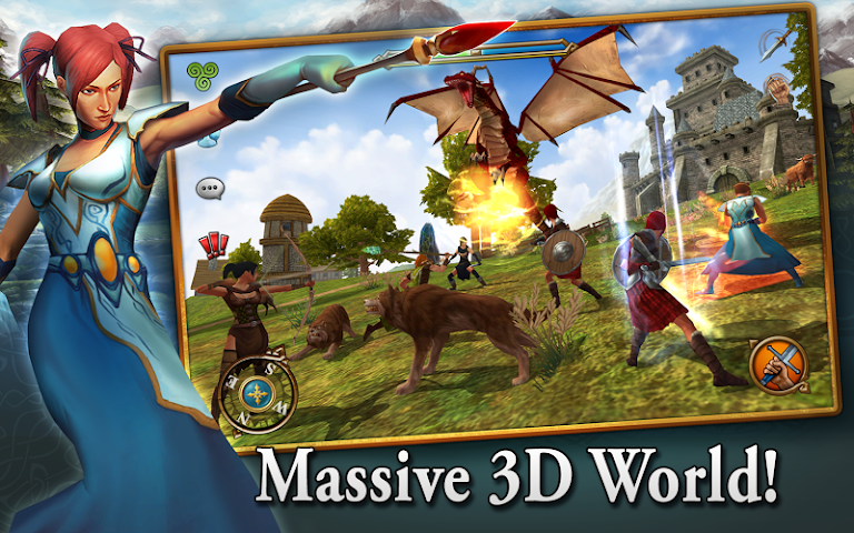 android 3D MMO Celtic Heroes Screenshot 0
