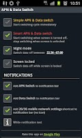 Screenshot of APN & Data Switch Pro