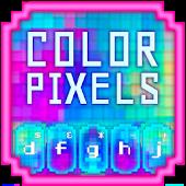 Download GO Keyboard Color Pixels Theme APK for Android Kitkat