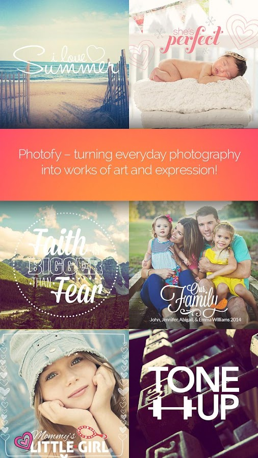 Photofy - screenshot