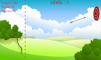 Screenshot of Moving Target Archery
