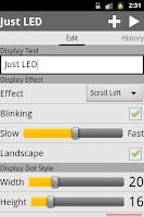 Screenshot of Just LED Display