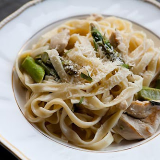 Pasta with Chicken and Asparagus