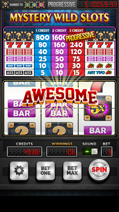 Mystery Wild Slot Machine- screenshot