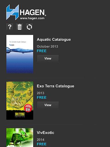 Hagen UK i-Catalogue