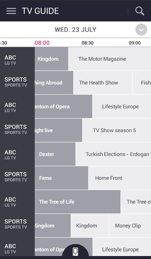 LG TV Plus app (Android - sorry) - anyone get it working