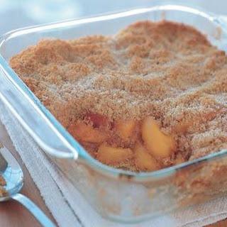 Peach Brown Betty