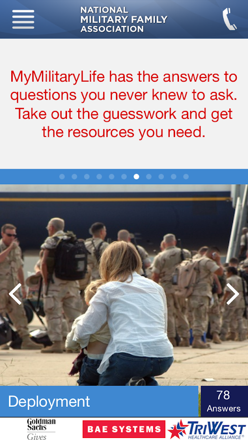 MyMilitaryLife- screenshot