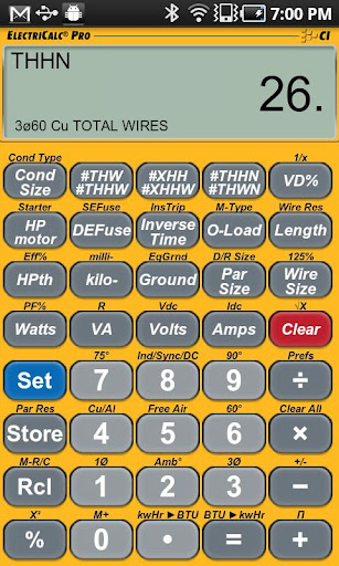 ElectriCalc Pro Calculator for Android - Version 1.0.6 ...