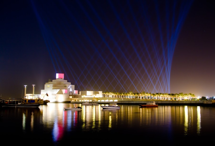 Qatar national day by Elmer Magdosa - News & Events Entertainment ( mia, independence day )
