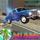 Miami Beach 80s Racing 3D