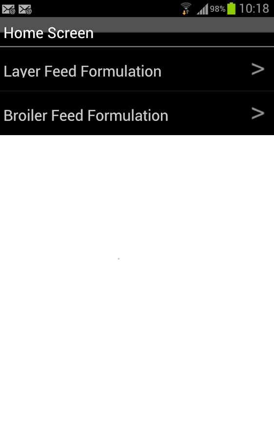 free poultry feed formulation software for android