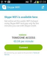 Skype WiFi Screenshot 5