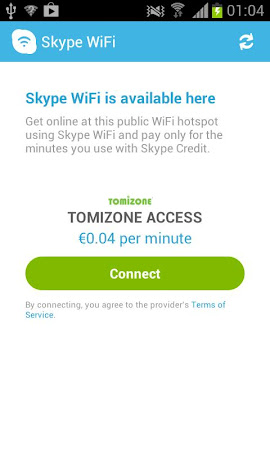Skype WiFi 1.6.0.3 screenshot 1728