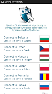 Vpn One Click - screenshot thumbnail
