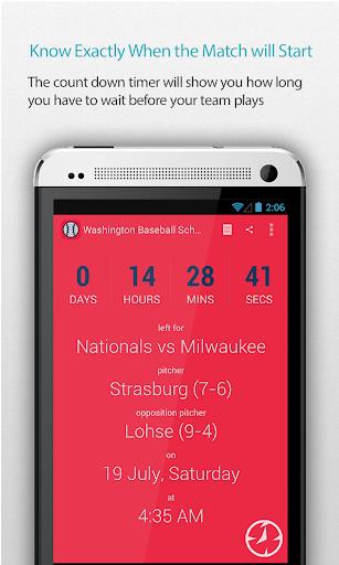 Washington Baseball Schedule