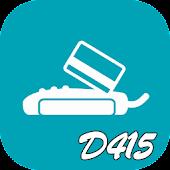 D415 카드 체크기