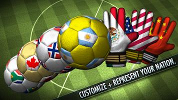 Screenshot of Soccer Showdown 2014