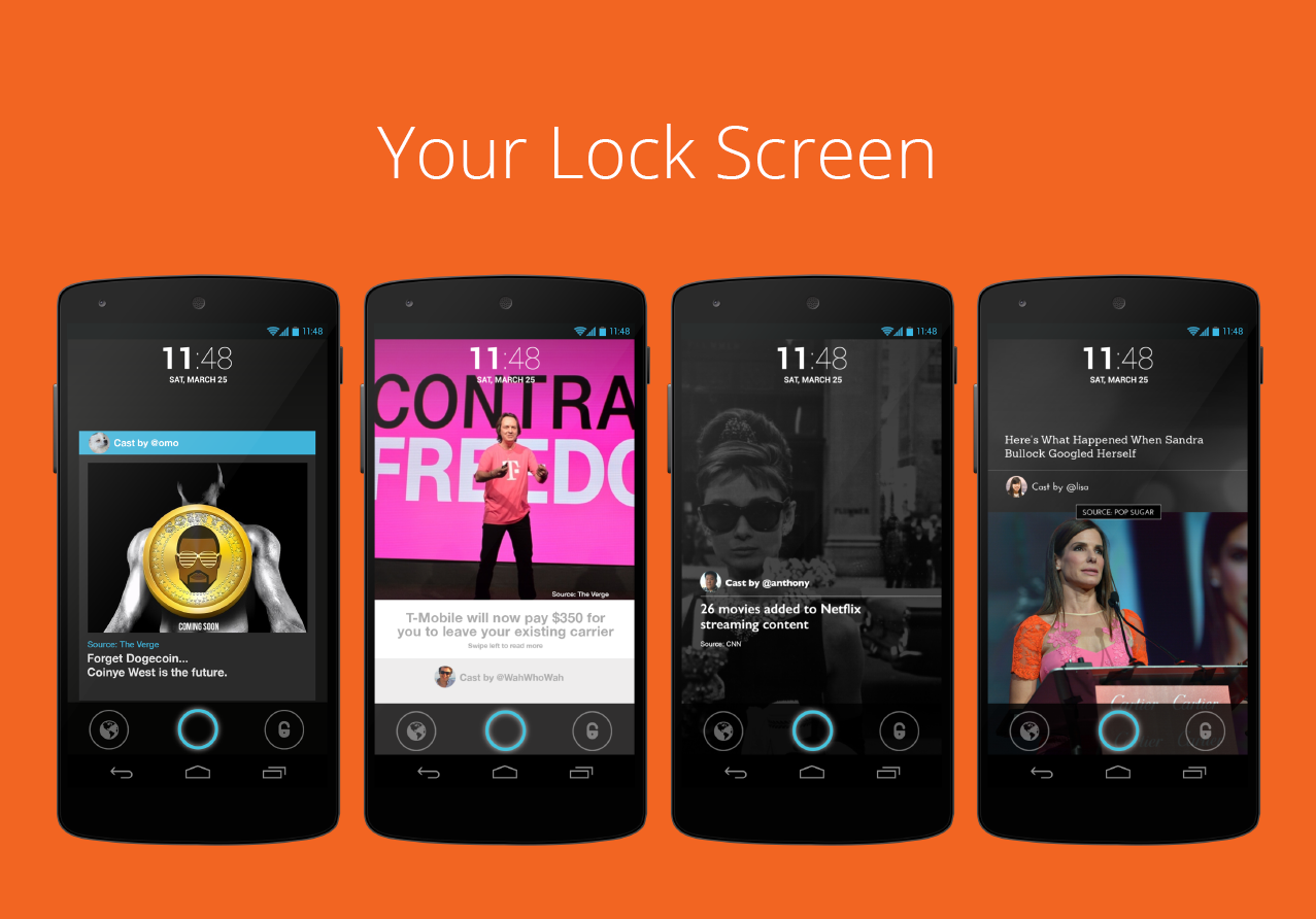 Locket: Your New Lock Screen - screenshot