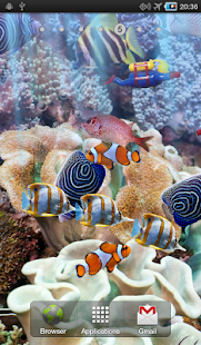 The real aquarium - LWP- screenshot thumbnail