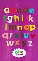 Screenshot of abc Wow! Kid Alphabet Letters