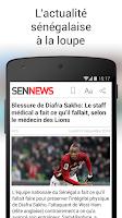 Screenshot of SenNews
